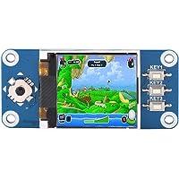 Sanpyl Pantalla LCD Pantalla de 1,44 Pulgadas Módulo de Pantalla LCD para Raspberry Pi 2B / 3B / Zero/ZeroW Resolución de 128 x 128 Mejor Efecto de Pantalla