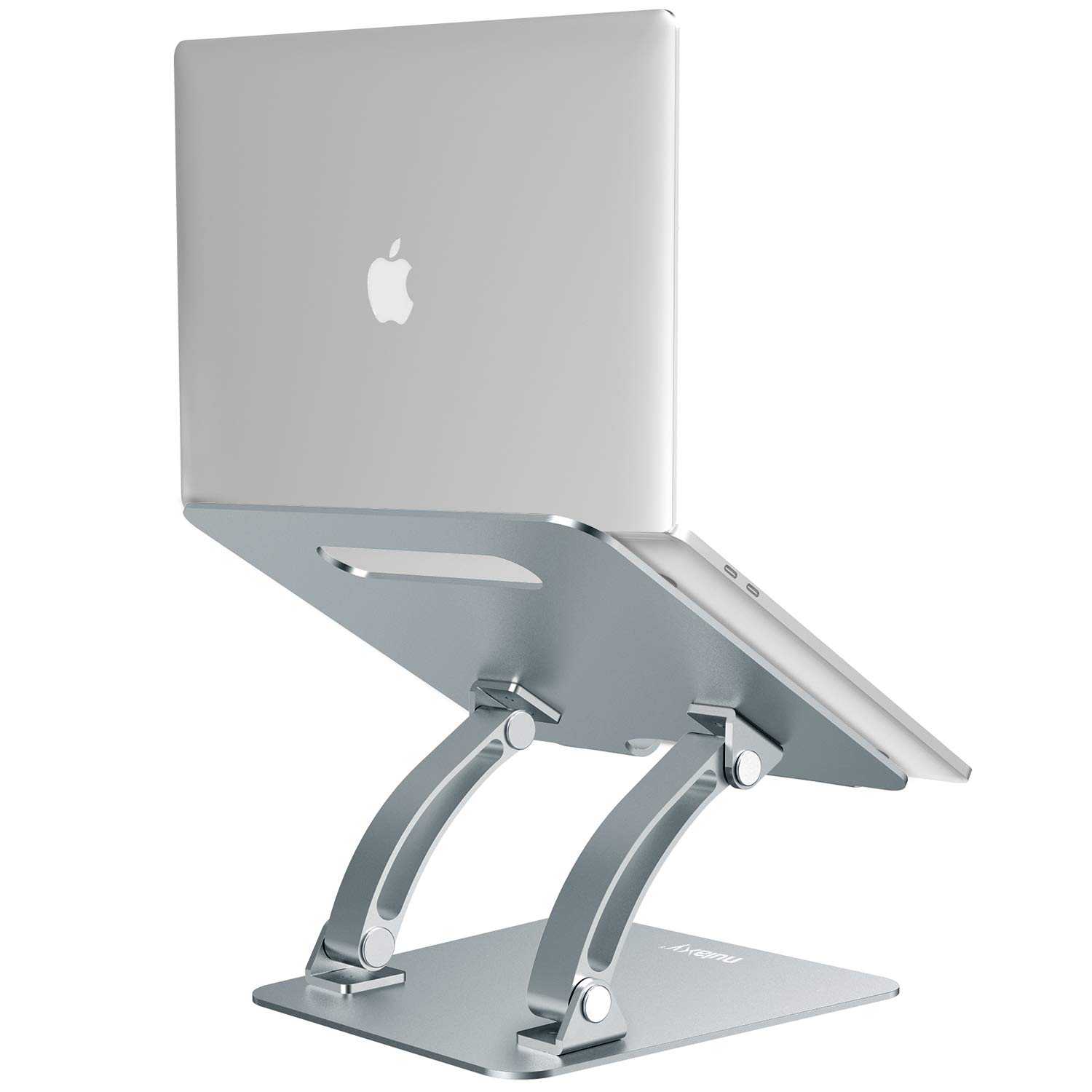 Nulaxy Laptop Stand, Ergonomic Adjustable Laptop Riser Computer Laptop Stand Compatible with MacBook, Air, Pro, Dell XPS, Samsung, Alienware All Laptops 10-17.3'', Supports Up to 44 Lbs - Space Grey by Nulaxy