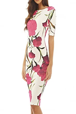 Welcometoo Women Dress Casual Summer Vestidos Sheath Plus Size 28 Styles Floral Print O-Neck