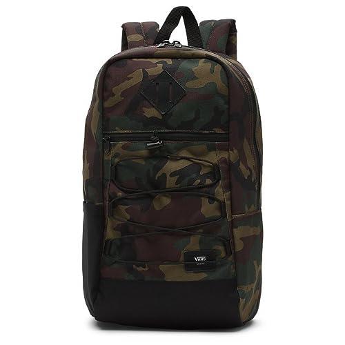 629713e9c7 Vans Unisex Snag Polyester Backpack Classic Camo-Camo-O S Size O S   Amazon.it  Scarpe e borse