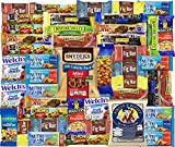 Healthy Bars and Snacks (Count 45) - Over 4 Pounds of Snacks! by Blue Ribbon