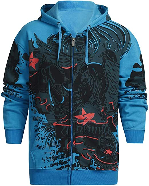 Yutao Mens Shirts Long Sleeve Autumn Winter Casual Sweatshirt Hoodies Top Blouse Tracksuits
