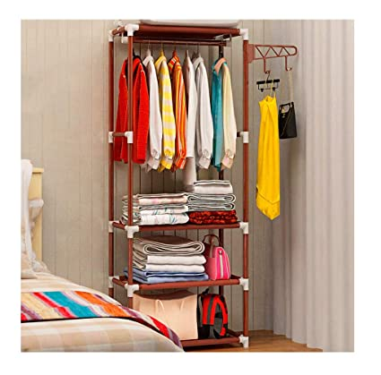 Amazon.com: LIAN Simple Coat Rack Floor-Standing Hanger ...