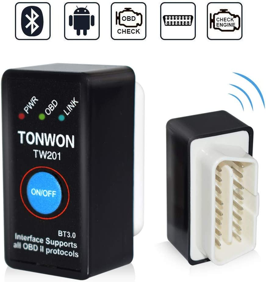 Clear Check Engine Light >> Amazon Com Tonwon Obd2 Bluetooth Scanner Car Code Reader