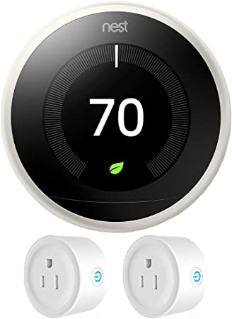 NEST Learning Thermostat 3rd Gen Stainless Steel