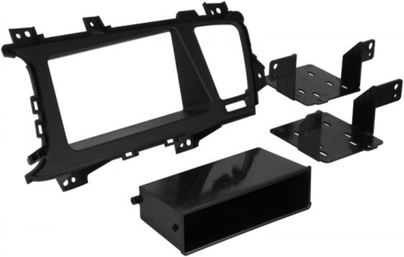 Metra 95-7345B Double DIN Dash Fitment Kit for Kia Optima 2011-Up Black