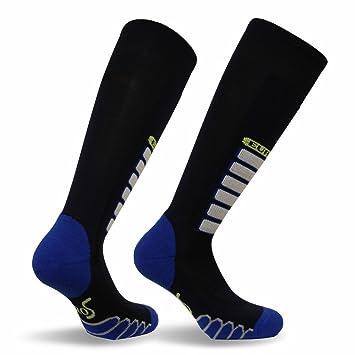 Eurosocks - Calcetines de esquí para Nieve, Ultra Lisos, sin banderines, sin Costuras
