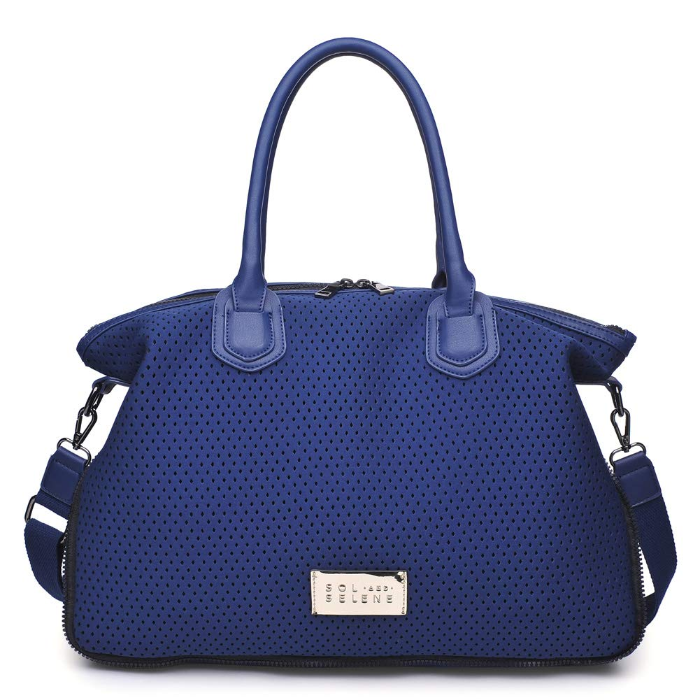 Sol and Selene Women's High Impact Tote Gym, Navy One Size