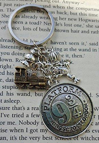 12pcslot Llavero, diseño de Harry Potter Hogwarts Express ...