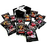 Loud Truck Energy Gummi Bears 2-Flavor Variety: Six 1 oz Packets Each of Citrus and Berry in a Gift Box