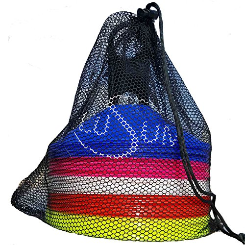 Lusum Set von 50Sport Sicherheit Distanzmarkerkegel mit Ständer und Tasche. qizV5U6