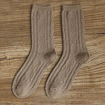 Socke Herbst Winter Dicke warme Wollsocken Frauen Farbe weibliche 1 2 Cyan Excellent Product