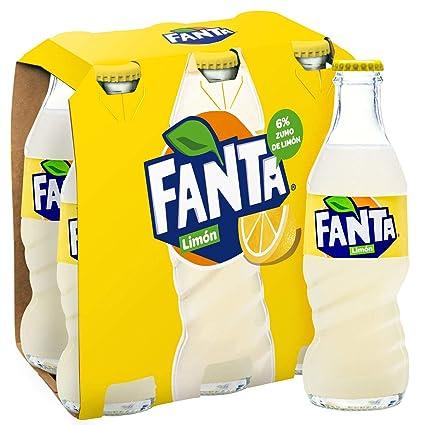 Fanta Zumo de Limón - Pack de 6 x 200 ml - Total: 1200 ml