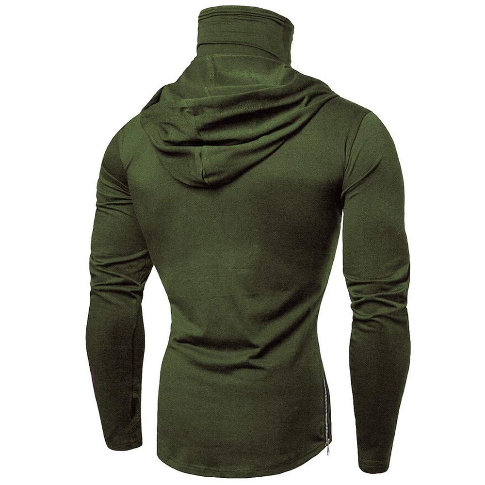 f9dc93c6 Mens Hoodie, Funny Mask Skull Hooded Pullover Solid Sweatshirt Blouse Tops  Zulmaliu at Amazon Men's Clothing store: