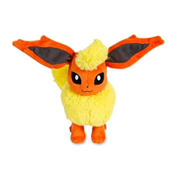 POKEMON - FLAREON - PELUCHE FLAREON / FLAREON PLUSH TOY 18cm (UP)