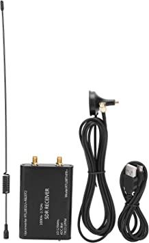 Receptor RTL-SDR, sintonizador USB RTL2832U + R820T2 de aleación de Aluminio, Radio definida por Software, con Antena, se Puede conectar a ...
