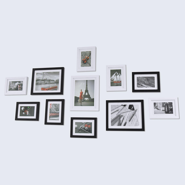Kit de Colgador de Fotos 68 Piezas Ganchos de Marco de Foto Kit de ...