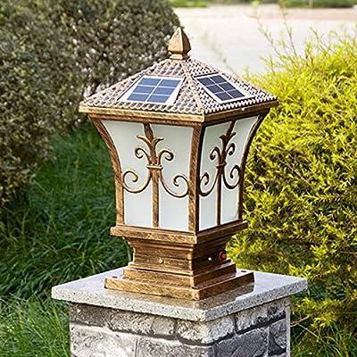 YZL/ Solar lights/the stigma Wall lamp/outdoor landscape lighting/garden lighting/LED solar post light