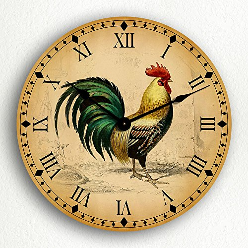 Rooster Traditional Kitchen Motif 12