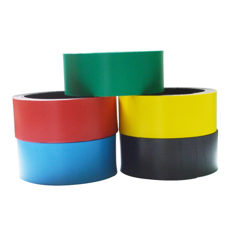 DIY Color Magnetic Strip Refrigerator Soft Rubber Magnetic Whiteboard Frame Stickers A Sets Of 5 pcs