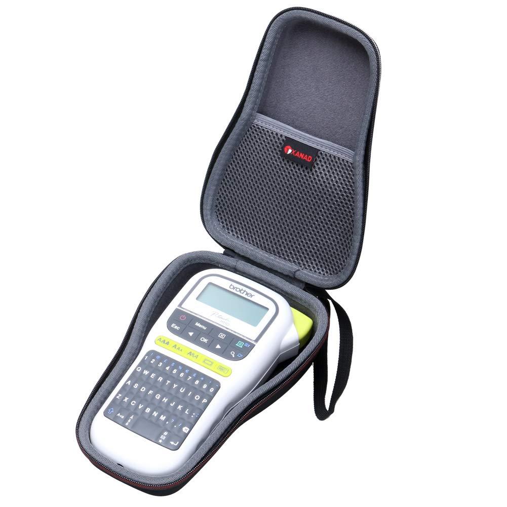 Brother PT-H110,PT-H100 Case, XANAD Case Compatible with Brother PT-H110,PT-H100 Label Printer Storage Carrying Travel Bag