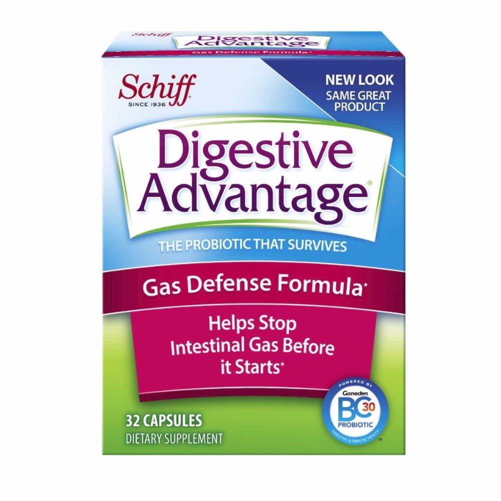 Digestive Advantage Gas Defense Probiotic, 32 Capsules