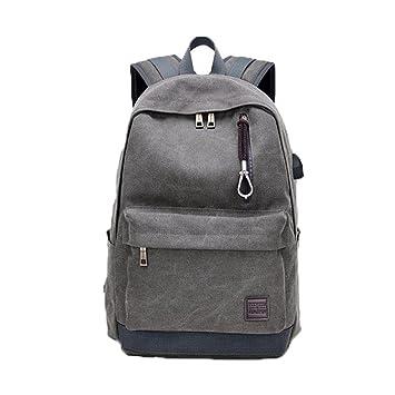 mochilas hombre portatil, Sannysis mochilas escolares juveniles mochilas mujer viaje unisex deporte bolso gimnasio de