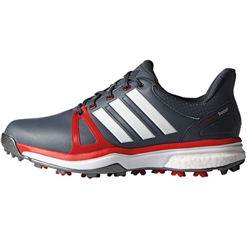 best loved 97014 bf6c6 adidas Adipower Boost 2, Scarpe da Golf Uomo, Multicolore (RossoBianco)