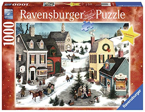 Ravensburger The Joy Christmas 1000 Piece Jigsaw Puzzle Adults – Every Piece is Unique, Softclick Technology Means Pieces Fit Together Perfectly