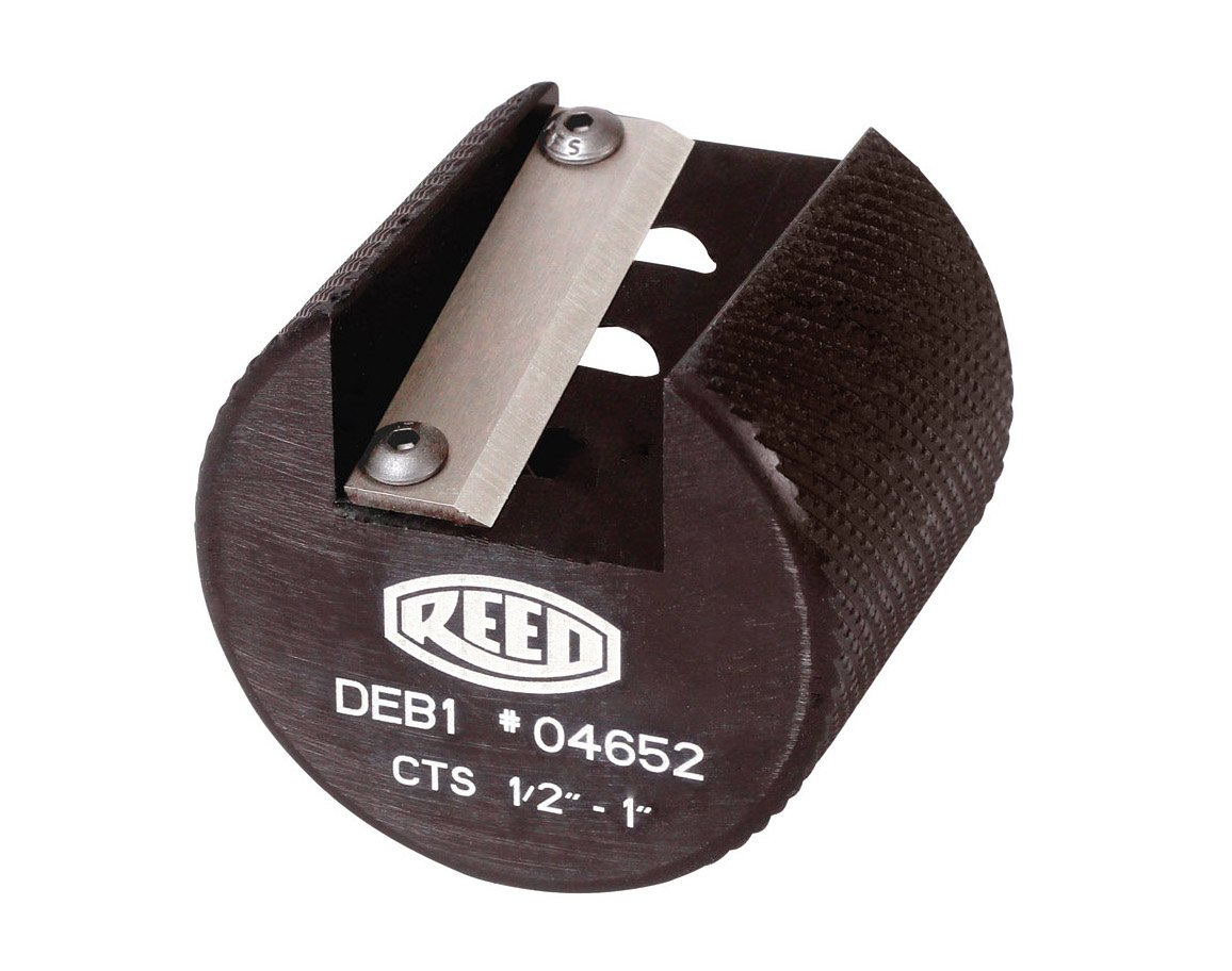 Reed Tool DEB1CTS Deburring Tool for Plastic 1/2 to 1-Inch CTS pipe