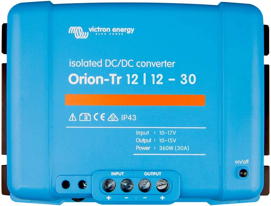 Victron Orion-Tr 12//24-10 12V auf 24V 10A 240W DC-DC Spannungswandler isoliert