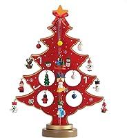 ZZM - Mini árbol de Navidad de Madera