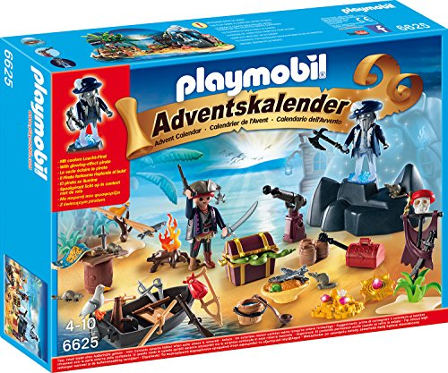 PLAYMOBIL 6625 - Adventskalender - Geheimnisvolle Piratenschatzinsel