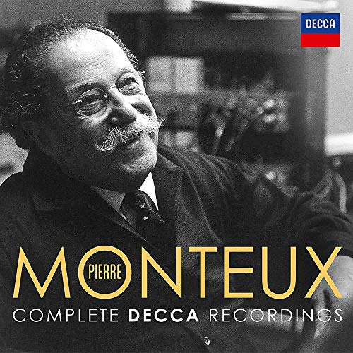 Pierre Monteux Complete Decca Recordings [24 CD] from Decca