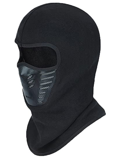 186eb9a5705 Amazon.com  Joyoldelf Warmer Balaclava Face Mask Cover Anti-dust Windproof  Winter Outdoor Ski Sport  Clothing