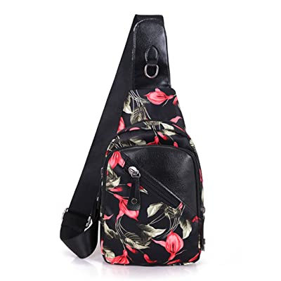 Estwell Sling Bag Chest Unbalance Shoulder Backpack b2326998fb95a