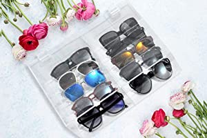 Xchangeables 10-Compartment Organizer for Apple Smart Watch Bands, Jewelry & Sunglasses Storage Box (10-Compartment)