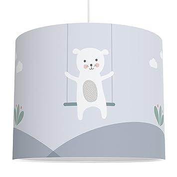 LALAVI Lampenschirm fürs Baby- und Kinderzimmer (Ø 40 cm) - Für ...