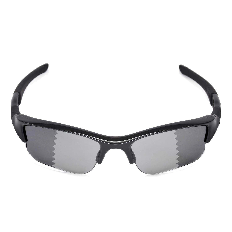 b8f74c42a1 Walleva Replacement Lenses for Oakley Flak Jacket XLJ Sunglasses - Multiple  Options (Transition photochromic - Polarized)