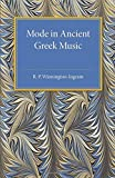 img - for Mode in Ancient Greek Music (Cambridge Classical Studies) by R. P. Winnington-Ingram (2015-02-12) book / textbook / text book