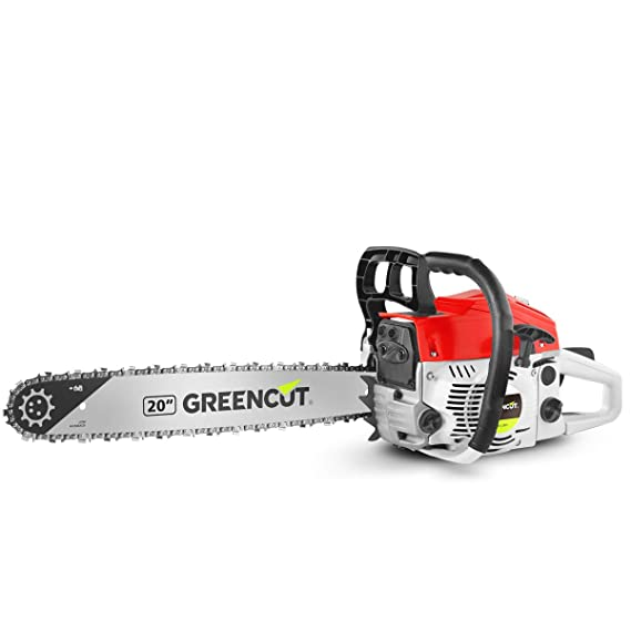 Greencut GS620X - Motosierra de gasolina, 62cc - 3,8cv, espada de ...