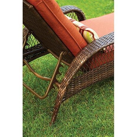 Amazon.com: Mejores casas y jardines.. Chaise Lounge con ...