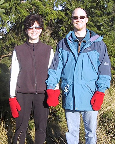 Smittens - Handholding Mittens for Friends & Lovers - Red Basic Style