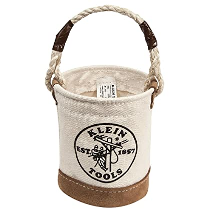Mini Leather-Bottom Bucket Klein Tools 5104MINI - Tool Bags - Amazon.com