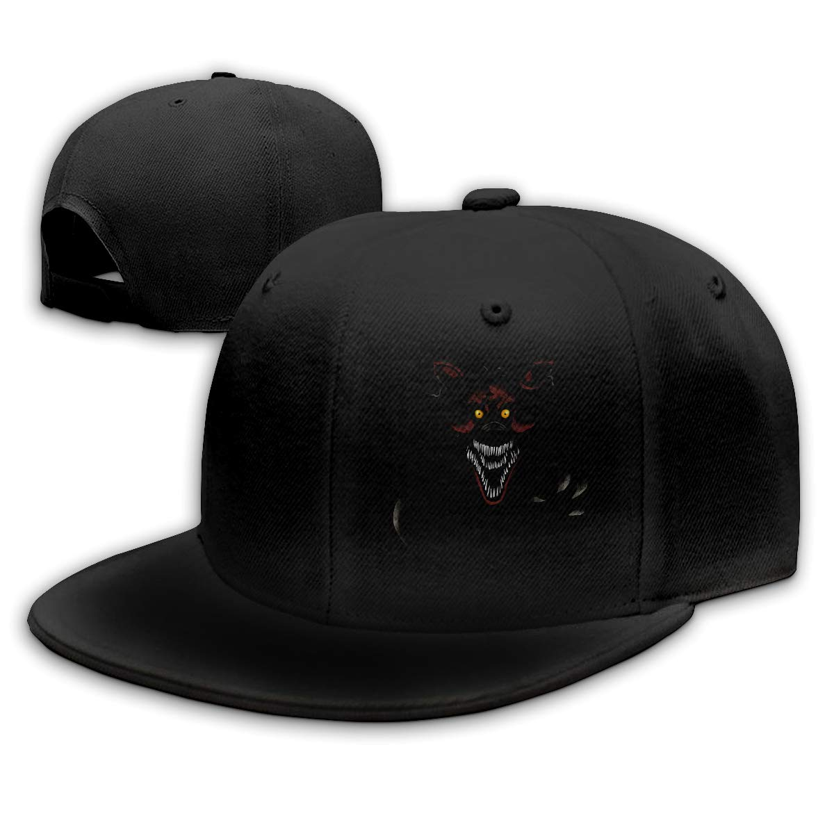 Five-Night-at-Freddy-Nightmare-Foxy-Alone-by-Kaizerin Adjustable Denim Hats
