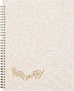 "Blue Sky Noteworthy 2019-2020 Academic Year Weekly & Monthly Planner, Durable Flexible Cover, Gold-Tone Twin-Wire Binding, 8.5"" x 11"", Graffiti"