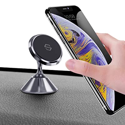 Magnetic Car Phone Holder,YUMA Car Phone Mount,Phone Holder for Car,Magnetic Phone Holder for Car Compatible iPhone 11/11 Pro/7/8,Samsung Note 10/S10+/S10/S9,LG/Google and More(Gary)