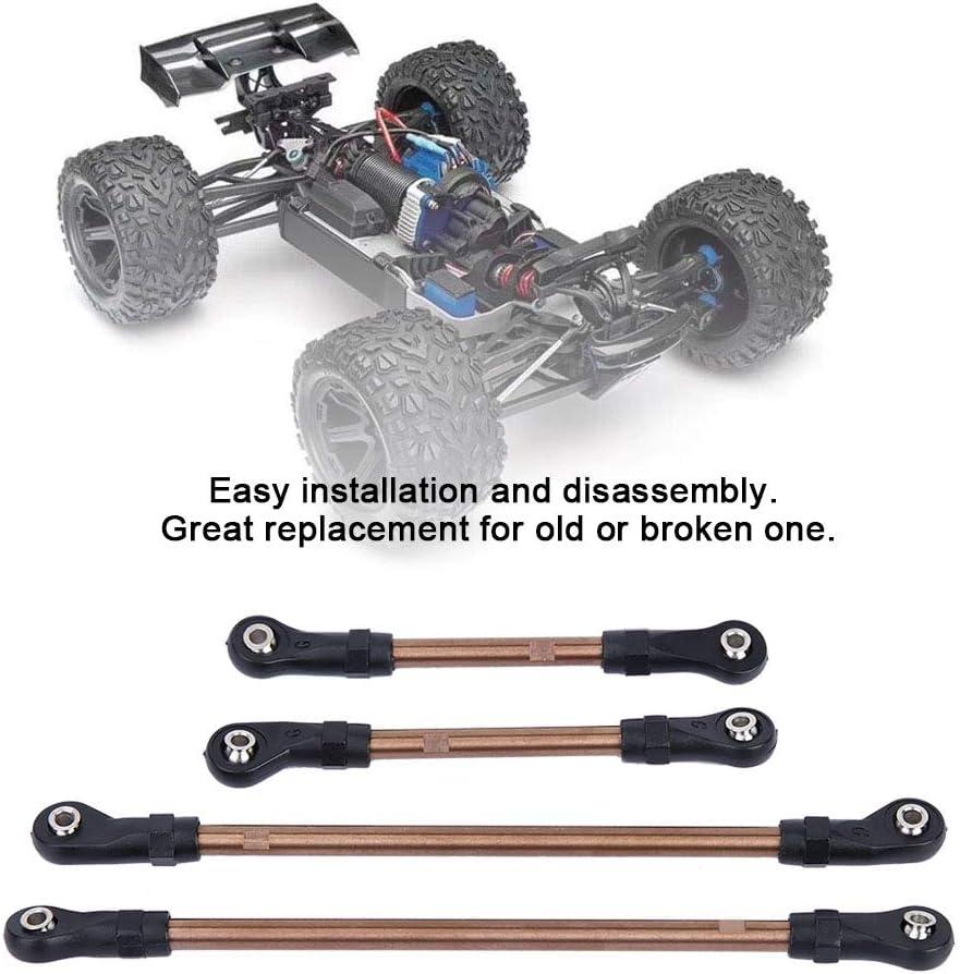 Woyisisi 10pcs Stainless Steel Link Rod 324mm Wheelbase for TRAXXAS TRX4 RC Crawler Car