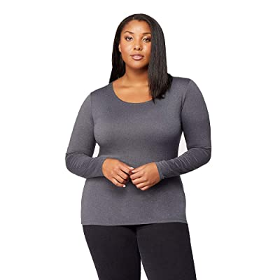 32 DEGREES Womens Lightweight Baselayer Scoop Top at Women's Clothing store