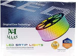 50M للماء LED مرنة LED فلاش إضاءة مصباح الشريط الخفيفة (أبيض بارد)
